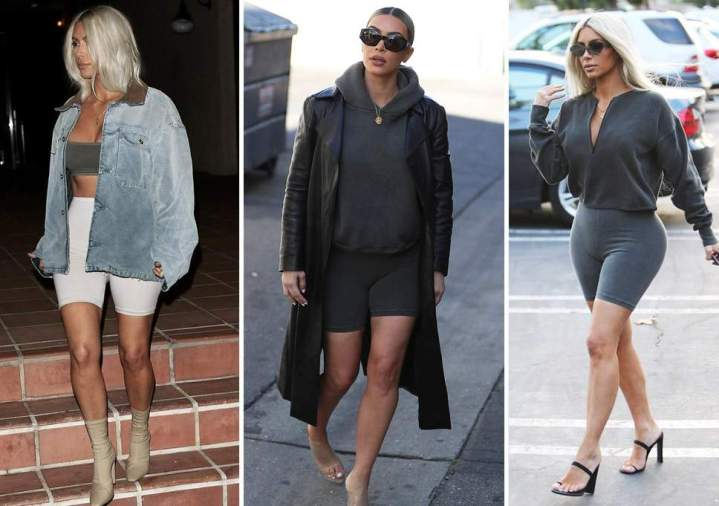 Bike shorts inspired by KimK!